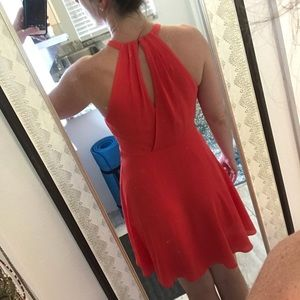 Express Dresses - Coral dress from express